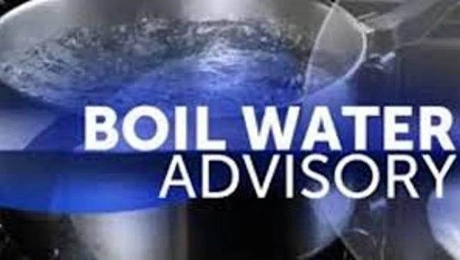 Water boil advisory.