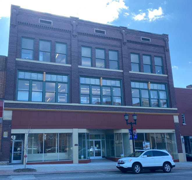The Potter-Davis building in downtown Cambridge is home to the Area Agency on Aging Region 9.