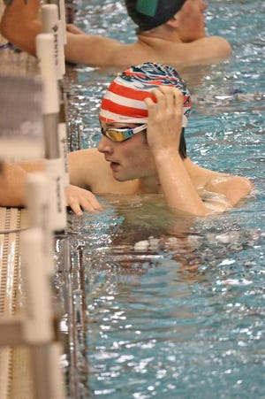 The Coldwater Cardinal Swim and Dive team finished off their 2021 home schedule with a loss to Loy Norrix Thursday