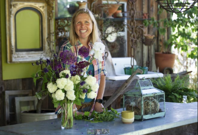 Katharine Brown, the renowned floral designer from Fox Hill Farm, will be the floral designer at Gorgeous Floral in Hawley, operated by  Settlers Hospitality. / Contributed