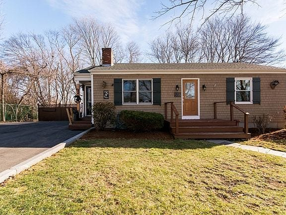 The home at 535 Hyacinth St., Fall River, sold for $391,000 on Feb. 19 from Kristy Almeida and Joseph Amaral  to Erich Hetzler and Joann Hetzler. Source: The Warren Group.