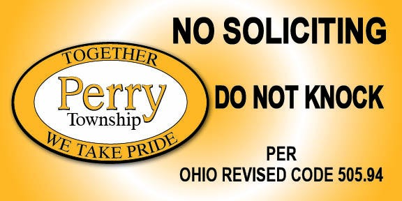 """The Perry Township Police Department is working on a """"Do Not Knock"""" program to deter unwanted solicitations at residences."""