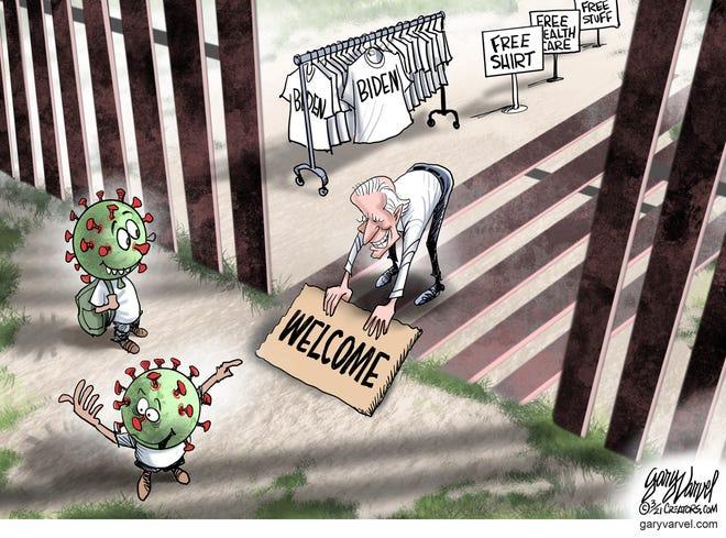 Today's editorial cartoon (March 7, 2021)