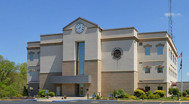 Miller County courthouse.
