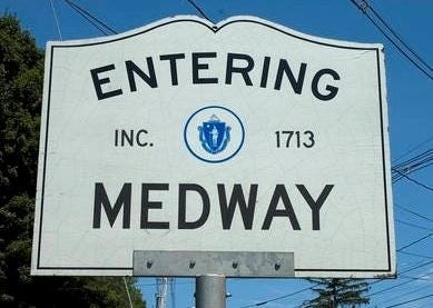 No one was injured in an early morning house fire Friday in Medway.