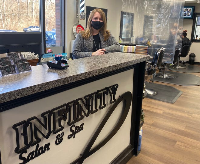 JoAnna Thomason of LaSalle is the owner of Infinity Salon & Spa, 6000 N. Monroe St. in Monroe.
