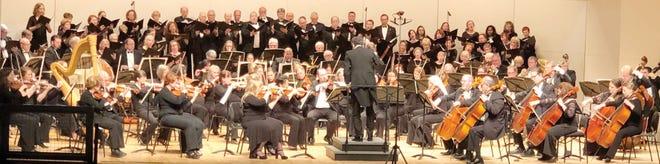 Oak Ridge Symphony Orchestra and Oak Ridge Chorus with Music Director Dan Allcott. Special to The Oak Ridger
