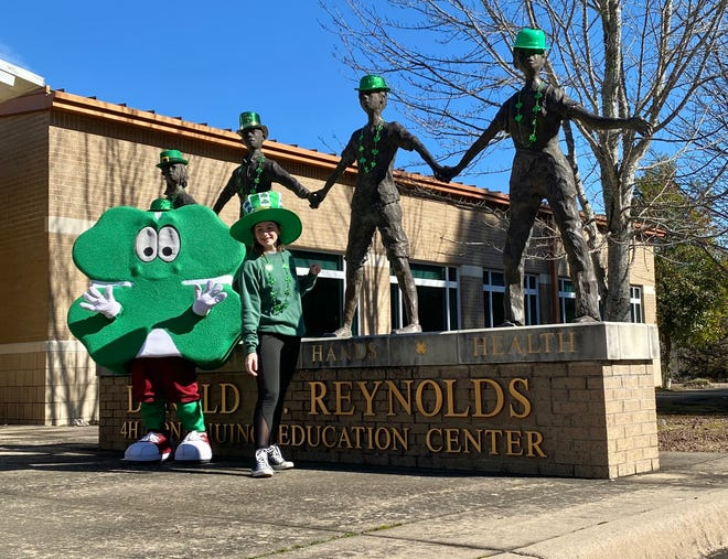 Arkansas 4-H will hold its first annual online fundraiser on St. Patrick's Day.