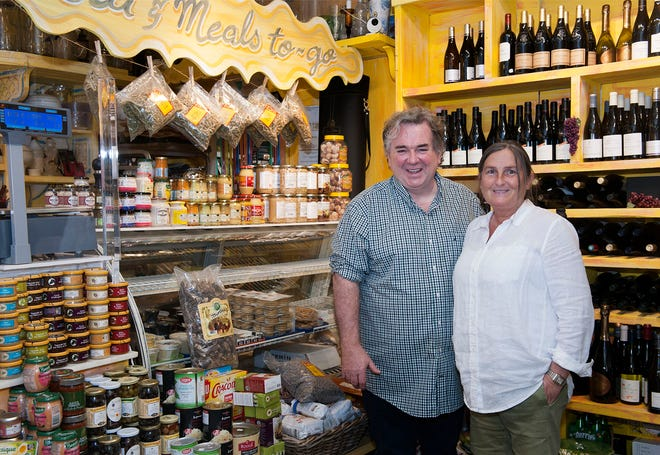 Thierry and Martine Miroir have owned Blue Provence for 20 years.