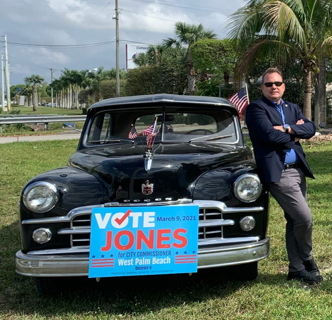 Jonathan Jones, candidate for West Palm Beach city commission District 4.