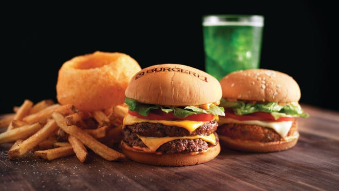 BurgerFi's menu includes burgers, chicken sandwiches, hot dogs, shakes and frozen desserts. Provided by BurgerFi