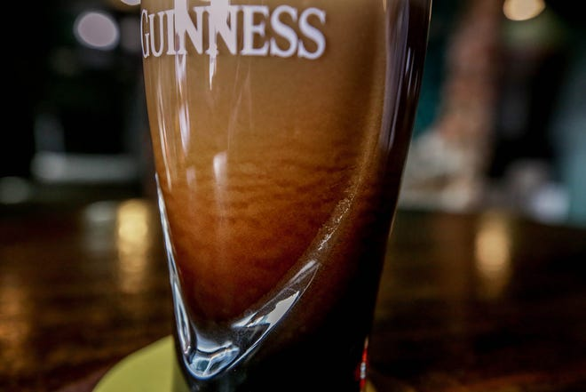 Cascading bubbles are one sign of a perfect Guinness pour says Maurice Collins at his Wild Colonial Tavern.