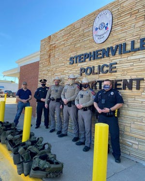 Local and regional Texas Department of Public Safety Highway Patrol offices recently made a donation of tactical armor to help keep the men and women of the Stephenville Police Department safe.