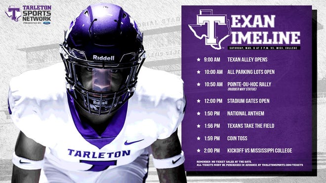Tarleton State hosts Mississippi College this Saturday for its Family Weekend game.