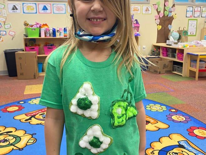 Shawnee and Tecumseh elementary students participate in Read Across America Week.