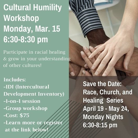 The Racial Unity Group at Wrightsville United Methodist Church will host virtually anti-racism workshops.