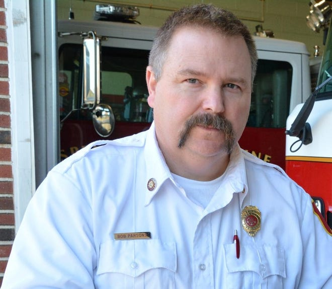 Spencer Fire Chief Robert P. Parsons is part of a team coordinating COVID-19 vaccines for homebound town residents.