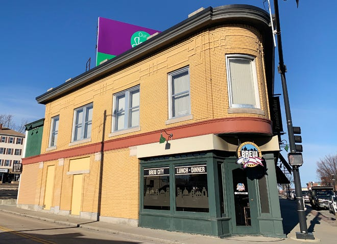 Brew City on Shrewsbury Street will be reopening March 19.
