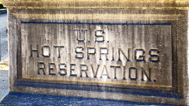 President Andrew Jackson declared an area in central Arkansas as Hot Springs Reservation in 1832.