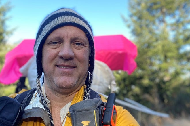 Bremerton's Kevin Koski is beginning a sixth-month hike in Santa Fe, New Mexico on March 26. He's hoping his Four Corners Loop expedition will eventually be added as a National Scenic Trail.