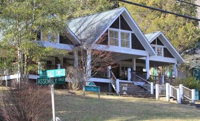 Galax House is one of three properties to be replaced by the proposed lodge.