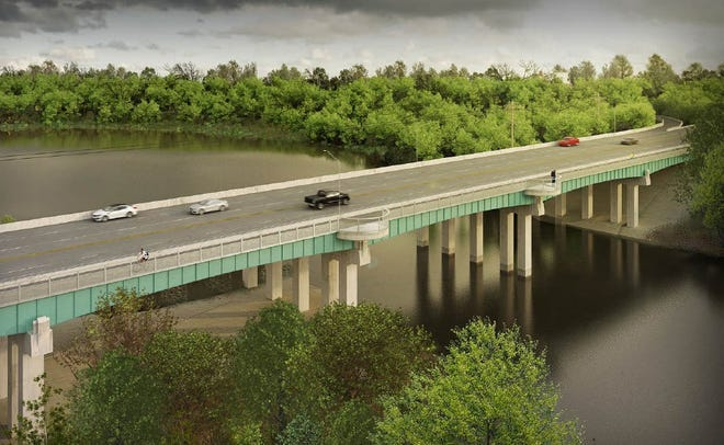 The Beechmont Bridge Connector will stretch half a mile across the Little Miami River and connect with the Lunken Airport Bike Trail as well as the Ohio River Trail to Downtown Cincinnati.