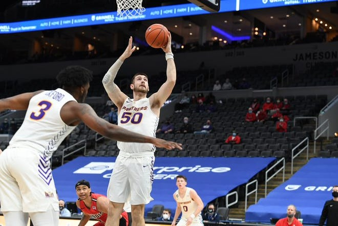 Austin Phyfe and the UNI Panthers beat Illinois State in the Arch Madness first round Thursday at Enterprise Center in St. Louis.