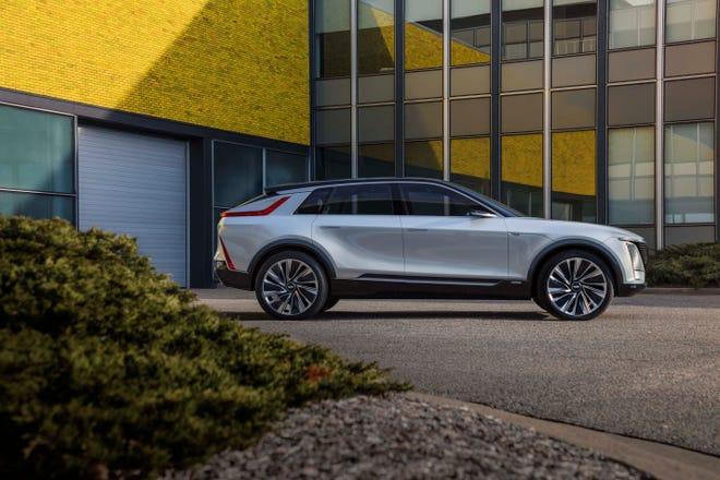 Cadillac LYRIQ is based on GM's new Ultium battery platform.