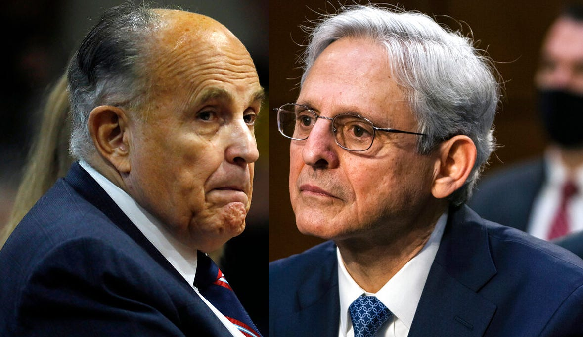 Feds: 18 electronic devices seized from Giuliani and firm 2