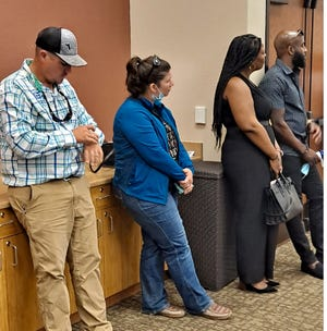 It was standing room only at a public meeting that is part of a process to decide whether the Lee Civic Center should become the site of a major development, leaving its days as a rural icon in the rear view mirror