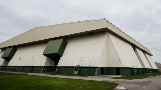 Lee County Civic Center opened in 1978, is no longer the venue for public performances, graduations and shows that it once was.   Lee County must decide whether a developer should be given control of the site or if the county fair association should remain in charge