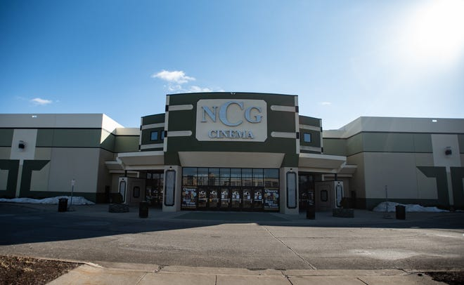 NCG Cinema at Eastwood Towne Center, pictured Thursday, March 4, 2021.