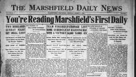 Marshfield News-Herald celebrates 100 years. These are the stories we've told.