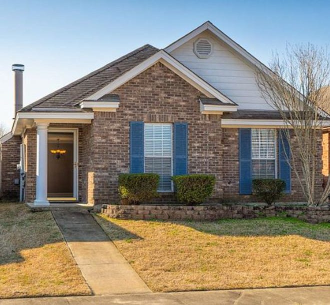 One Thorington Trace home located at 1528 Hallwood Lane is for sale for $153,000 and includes three bedrooms and two bathrooms within 1,498 square feet of living space.