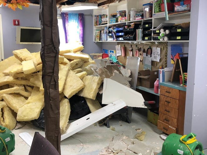 The San Angelo Family Shelter is facing 'severe' damage after the record-breaking winter storm busted the sprinkler system pipes.