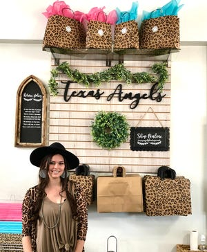 Evan Jewell of Texas Angels Boutique.