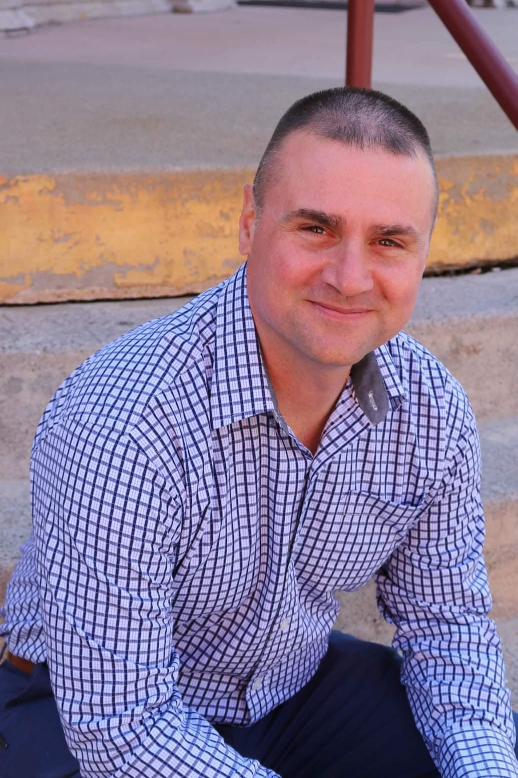 Staunton Police Officer Chris Hartless announces Staunton Sheriff bid