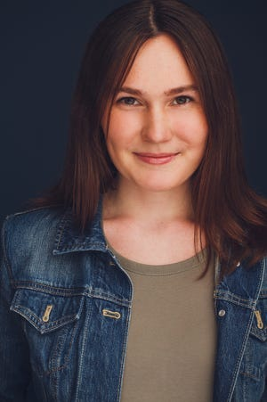 """Beth Slade plays the title role in FSU School of Theatre's """"Antigone,"""" which is a virtual production."""