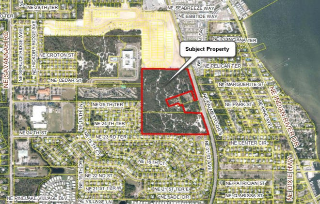 The county Local Planning Agency recommended approval Thursday of the proposed Sabal Pointe residential subdivision at the end of Northeast Cedar Street in Jensen Beach.