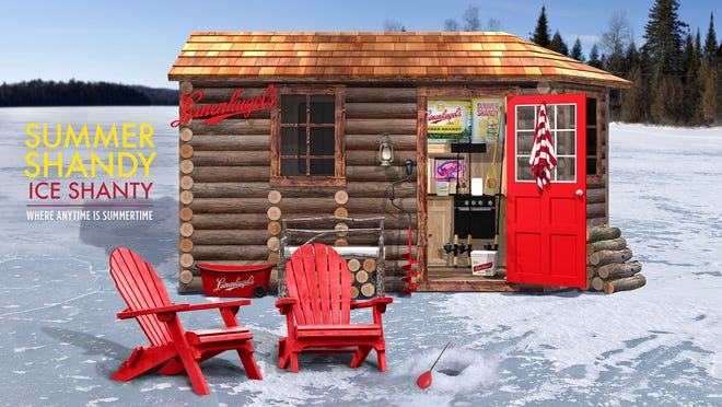 The Summer Shandy Ice Shanty.