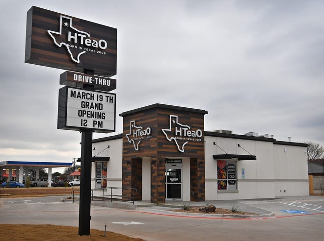 An HTeaO flavored ice tea franchise will open on Southwest Parkway on March 19. They offer 22 flavors of fresh brewed sweet and unsweet teas.
