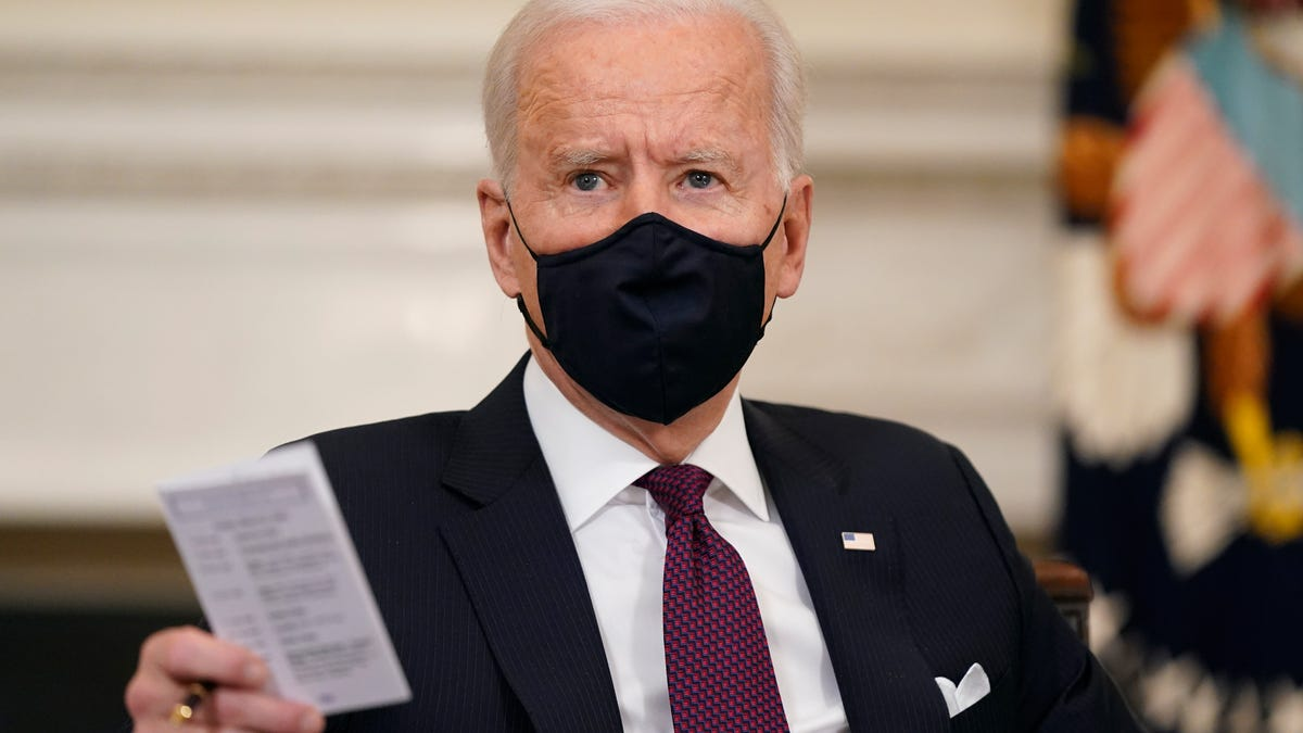 Biden hasn't held a news conference or been imitated on 'SNL' in his presidency. Why not?