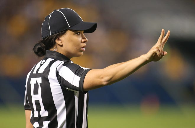 Maia Chaka is the first Black female official in NFL history.