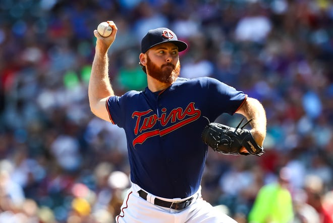 Dyson last pitched in the majors for the Twins in 2019.