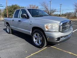 Authorities say the suspect was driving a  grey/silver 2007-2008 Dodge pickup truck similar to the one pictured.