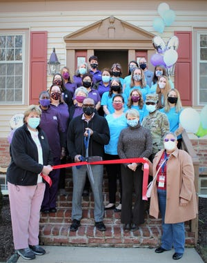 Friends, staff and members of the Central Delaware Chamber of Commerce joined the folks at Home Instead Senior Care and Merry Maids to celebrate their new downtown Dover location with a ribbon-cutting ceremony.