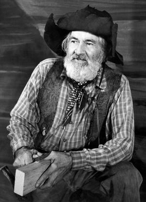 """Wellsville native George """"Gabby"""" Hayes was well known for his acting roles in Westerns during a long Hollywood career."""