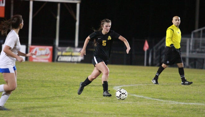 St. Amant senior Rachel Cretini was named the District 4 Overall MVP.