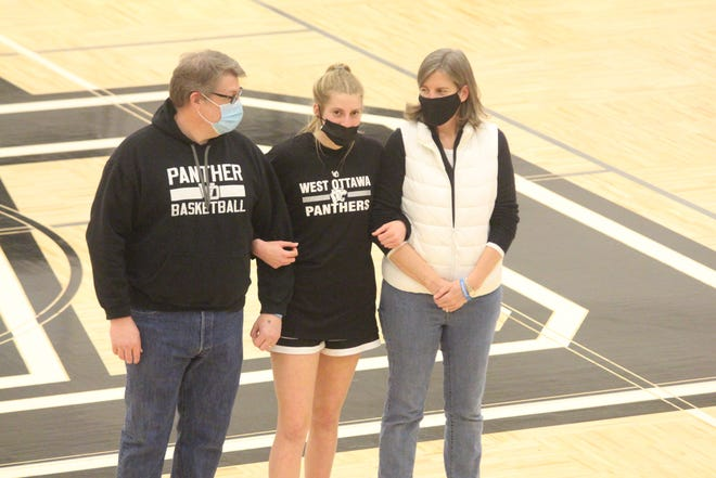 The West Ottawa girls basketball team defeated Grand Haven on Friday, March 5, 2021