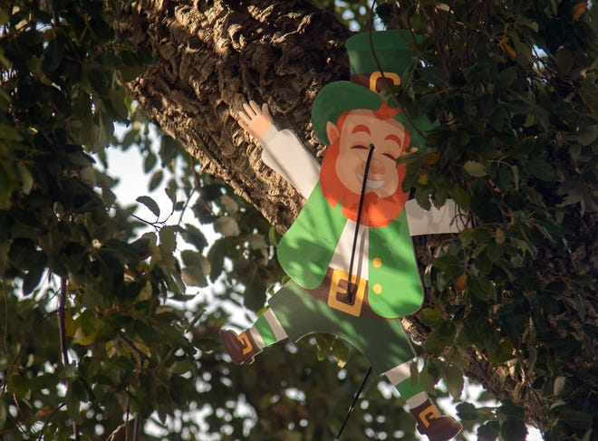 Ways to enjoy holidays that aren't virtual are being created every day. For the first time in Lafayette, there is a St. Patrick's Day Scavenger Hunt being held this weekend.